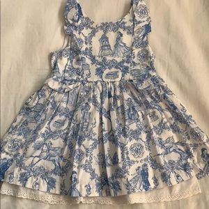 Beauty and the Beast Toile Dress